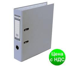 Регистратор LUX одност. JOBMAX А4, 70мм PP, серый, сборный BM.3011-09c