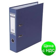 Регистратор LUX одност. JOBMAX А4, 70мм PP, синий, сборный BM.3011-02c