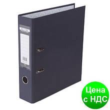 Регистратор LUX одност. JOBMAX А4, 70мм PP, черный, сборный BM.3011-01c