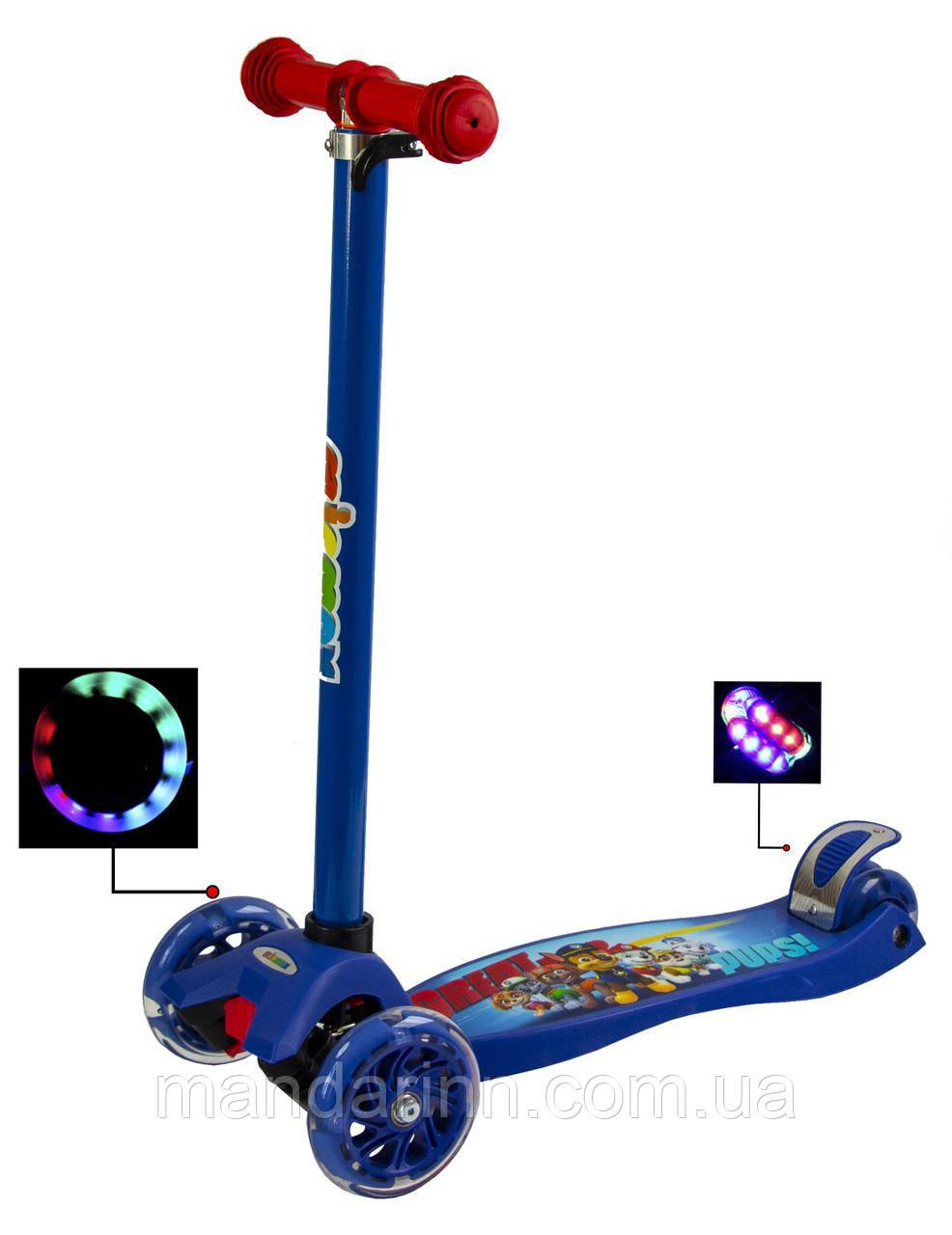 Самокат Maxi Scooter Disney. Щенячий патруль