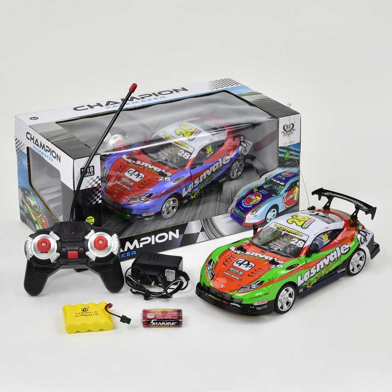Машина 333 - Р024 (24) р/у, аккум, 2 цвета, в коробке