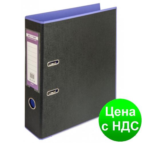 Регистратор STYLE двухстор. А4, 50мм, PP, фиолетовый/черный, PP, сборный BM.3006-07c