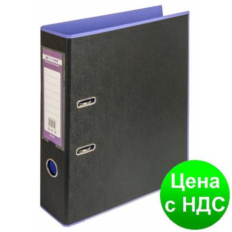 Регистратор STYLE двухстор. А4, 50мм, PP, фиолетовый/черный, PP, сборный BM.3006-07c, фото 2