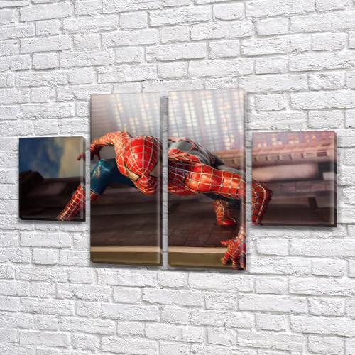 Модульные картины детских тематик, на Холсте син., 50x80 см, (25x18-2/50х18-2)