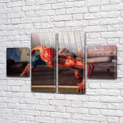 Модульные картины детских тематик, на Холсте син., 50x80 см, (25x18-2/50х18-2), фото 2