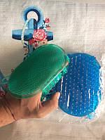 Мочалка-перчатка антицеллюлитная силиконовая