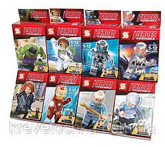 Мини фигурки мстителей Heroes assemble sy276 , фото 2