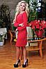 Женское платье с рукавом на манжете (0661-0662-0663 svt), фото 4