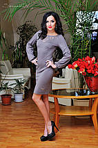 Женское платье с рукавом на манжете (0661-0662-0663 svt), фото 2