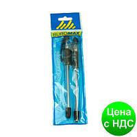 Ручка масляная  MaxOFFICE, черная, 2 шт. в блистере BM.8352-02-2