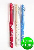 Ручка перьевая (закрытое перо), цвет корпуса ассорти, дизайн с рисунками, туба 36 шт. ZB.2247