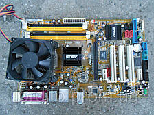 Asus P5L 1394 (Rev.1.01G) Socket 775 + Pentium Dual-Core E2200(2x2.2GHz) Box - в идеале!!!