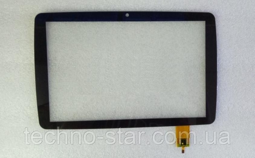 Оригинальный тачскрин / сенсор (сенсорное стекло) для Modecom FreeTAB 1003 IPS X2 (черный цвет, самоклейка)