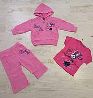 Трикотажный костюм-тройка для девочек оптом, Crossfire, 6-36 мес., арт.CS-1427, фото 5