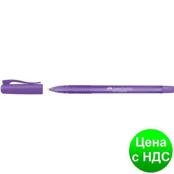 Ручка шариковая 247037 СХ COLOUR  1,0ММ ФИОЛЕТОВАЯ 25444