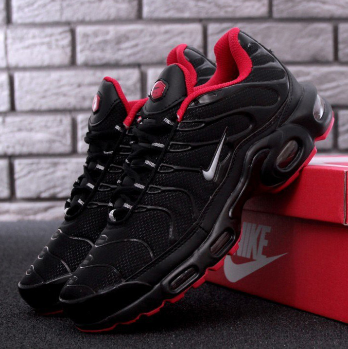 Nike Air Max TN Plus Black Red (реплика)