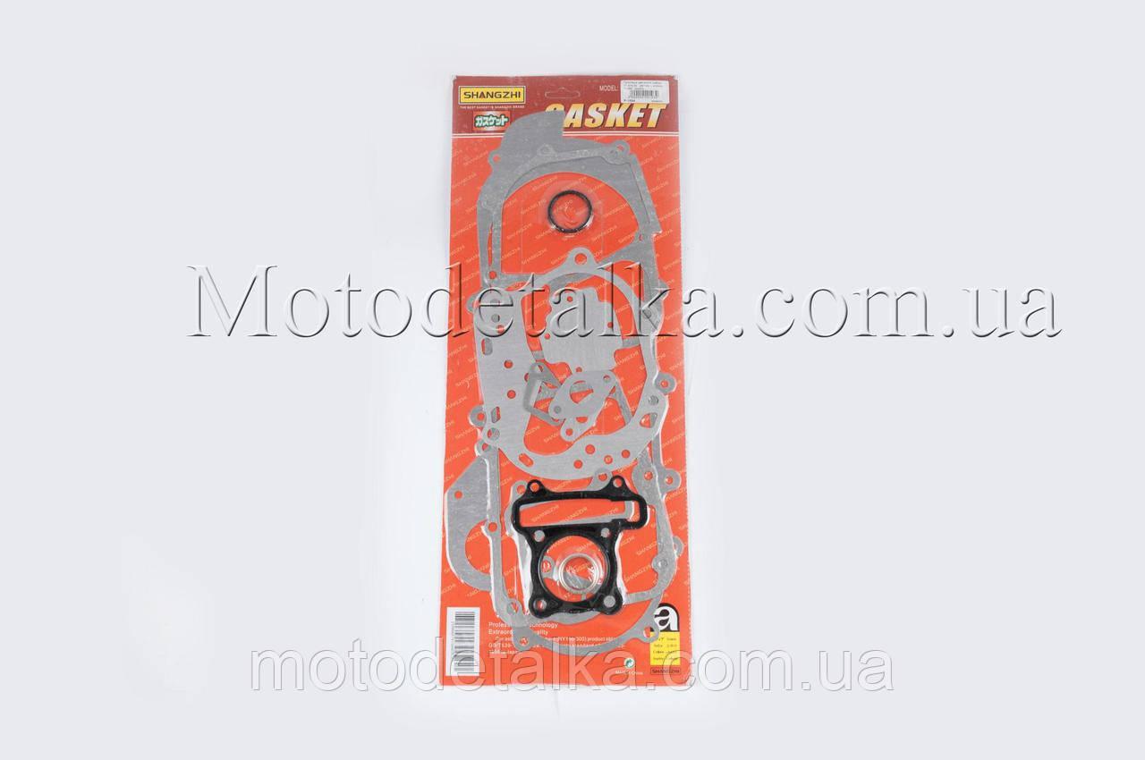 Прокладки двигуна (набір) 4T Скутер 80см3 (Ø47mm, L-430mm) SHANGZHI