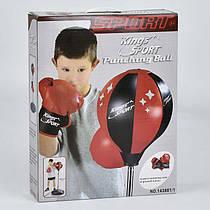 Набор боксера 143881-1 (12) перчатки, груша, в коробке