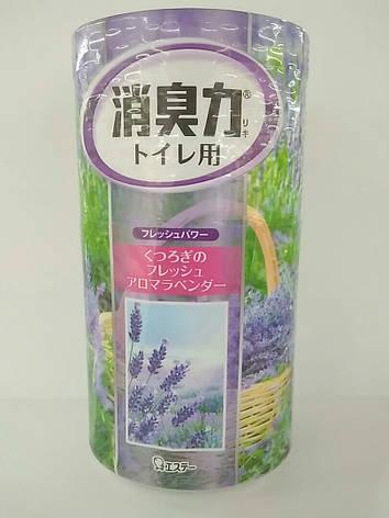 "Жидкий дезодорант для туалета ""SHOUSHUURIKI ЛАВАНДА"" 400 мл (115020), фото 2"