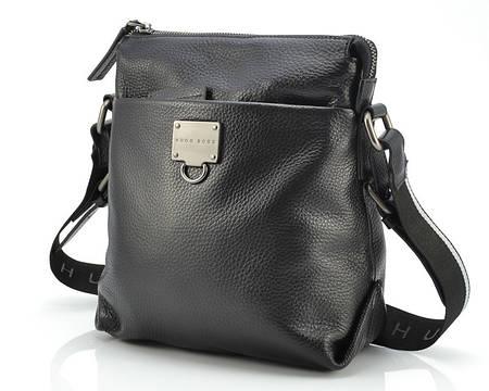 Мужская кожаная сумка Hugo Boss 5724