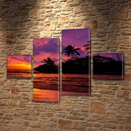 Купить модульную картину на Холсте син., 50x80 см, (18x18-2/45х18-2), фото 2