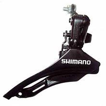 Переключатель Shimano Tourney FD-TZ30, нижняя тяга (28,6 мм)