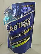 Крем-мыло для мужчин с ионами серебра увлажняющее, дезодорирующее (ароматом мяты)