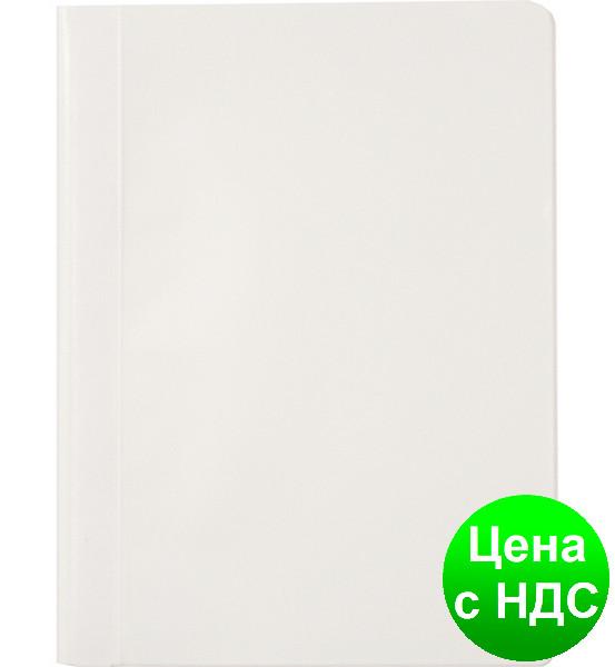 Скоросшиватель А4, PP, белый 1702001PL-09