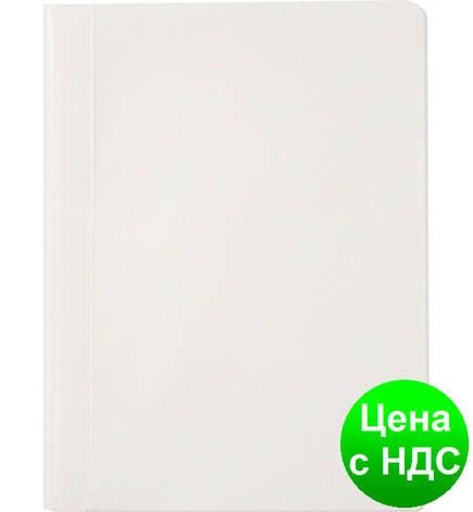 Скоросшиватель А4, PP, белый 1702001PL-09, фото 2