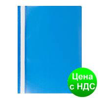 Скоросшиватель пласт. А4, PP, JOBMAX, голубой BM.3313-14
