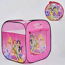 Намет дитячий Принцеси Дісней 8008 Р (48) в сумці