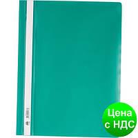 Скоросшиватель пласт. А4, PP, зеленый BM.3311-04