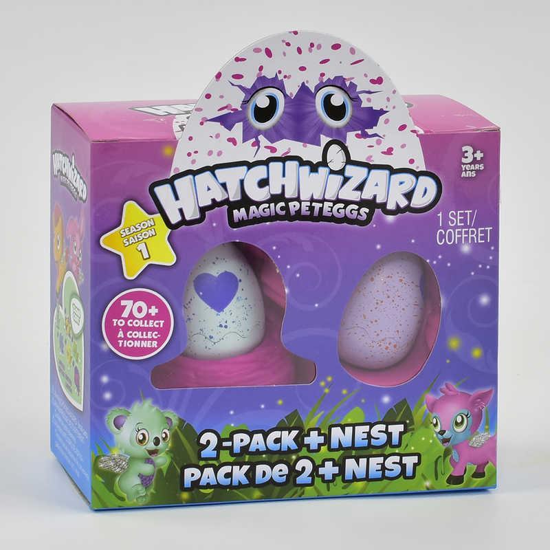 Питомцы в яйце 717 Hatchimals  в гнезде (240) 2 яйца в коробке