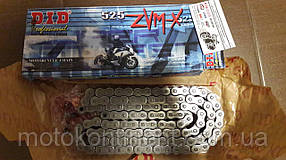 Мото цепь  525 DID 525ZVM-X 94 стальная для мотоцикла ( в к-те замок ZJ) сальник X 2 -Ring