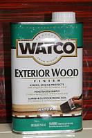 Масло защитное для деревянных фасадов и террас, Exterior Wood, 0.946 litre, Watco