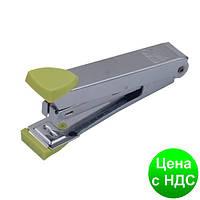 Степлер металлический до 12листов, (Скобы №10), св-зеленый BM.4152-15