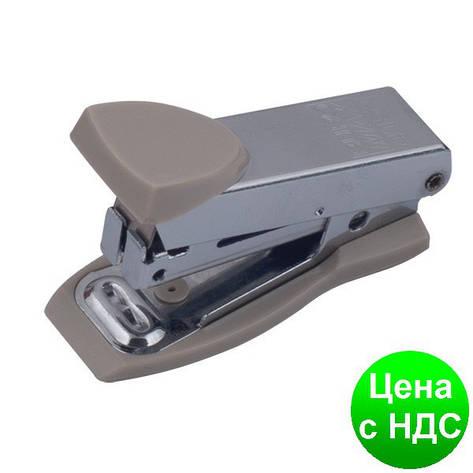 Степлер металлический Міні до 12листов, (Скобы №10), серый BM.4151-09, фото 2