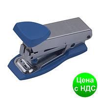 Степлер металлический Міні до 12листов, (Скобы №10), синий BM.4151-02
