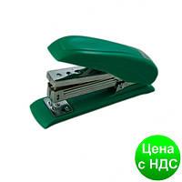 Степлер пластиковый POWER SAVING до 20листов, (Скобы №24; 26), зеленый BM.4211-04