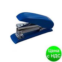 Степлер пластиковый POWER SAVING до 20листов, (Скобы №24; 26), синий BM.4211-02