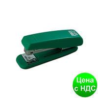 Степлер пластиковый до 20листов, (Скобы №24; 26), зеленый BM.4210-04