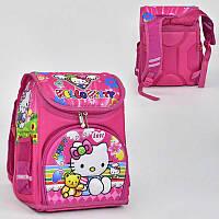 Рюкзак школьный Hello Kitty  2 кармана, спинка ортопедическая