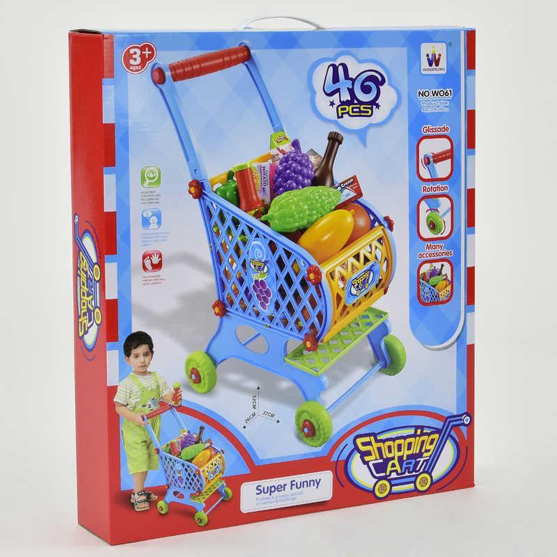 "Тележка ""Супермаркет"" W 061 (20) в коробке"