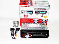 Автомагнитола Pioneer 1091 Съемная панель Usb+Sd+Fm+Aux+ пульт, фото 1