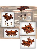Люстра потолочная Фантазия лофт, фото 2