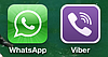 Мы есть в Viber  и Whatsapp