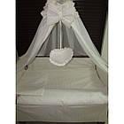 Постельное бельё в детскую кроватку Baby жакард линия 8 эл. В подарок - подвеска сердечко, фото 2