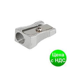 Точилка металева, клиноподобная, срібло BM.4730-24