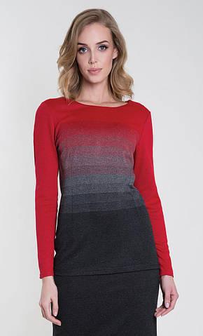 Женская блуза Sinope Zaps красного цвета, коллекция осень-зима 2018-2019