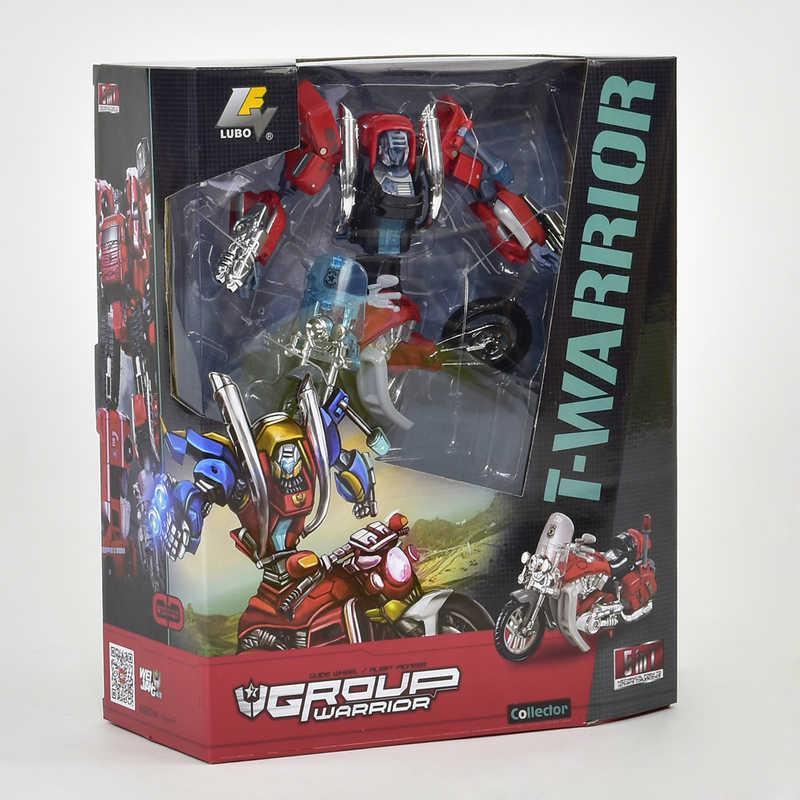 "Трансформер J 8016 A (24) ""Мотоцикл"" в коробке"